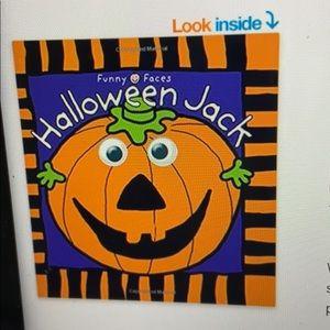 Brand new Halloween Jack kid board book